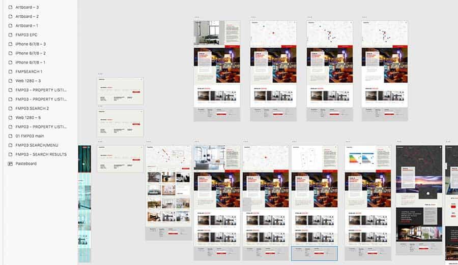 Website Redesign Prototype Creative Tweed