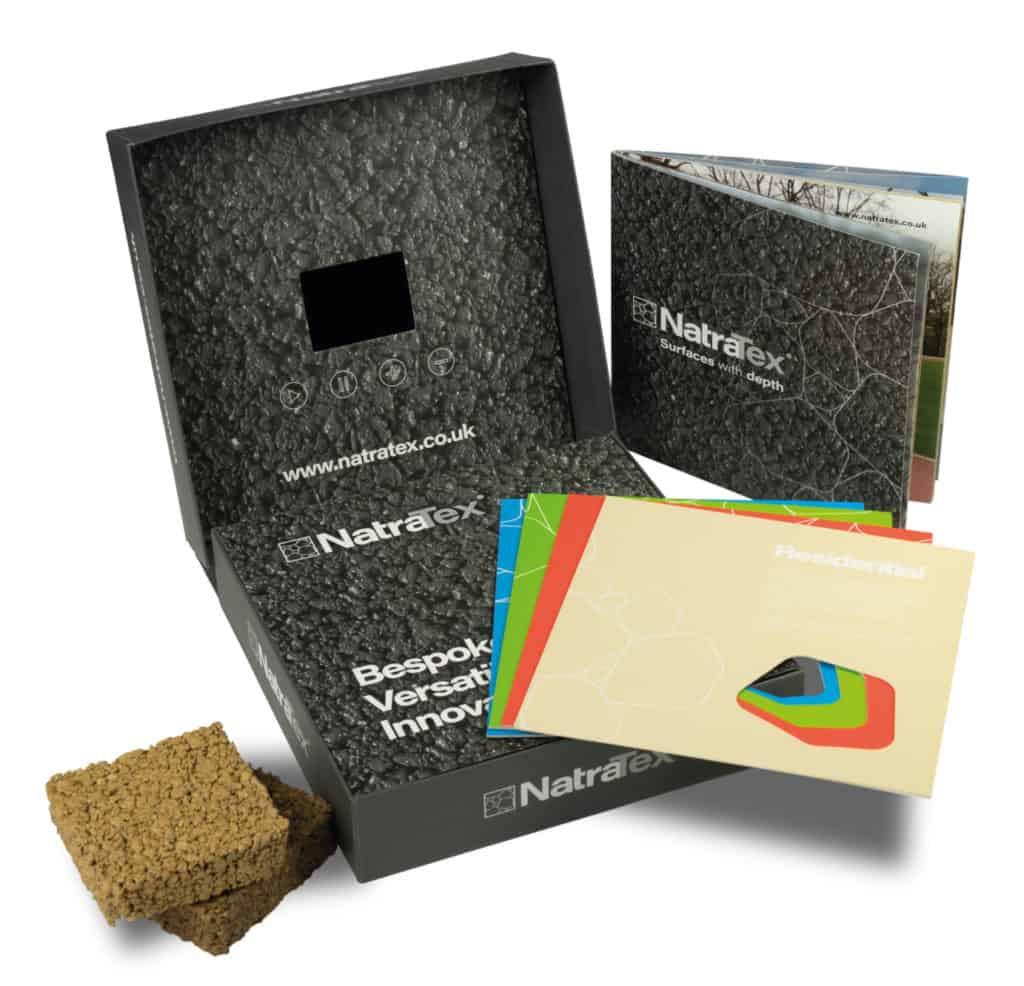 Natratex Sample Pack - Design/Print/Packaging