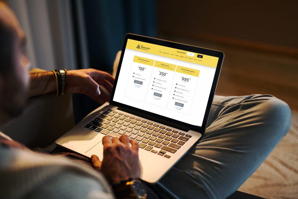 ecommerce website design | Diabetes Safety Organisation