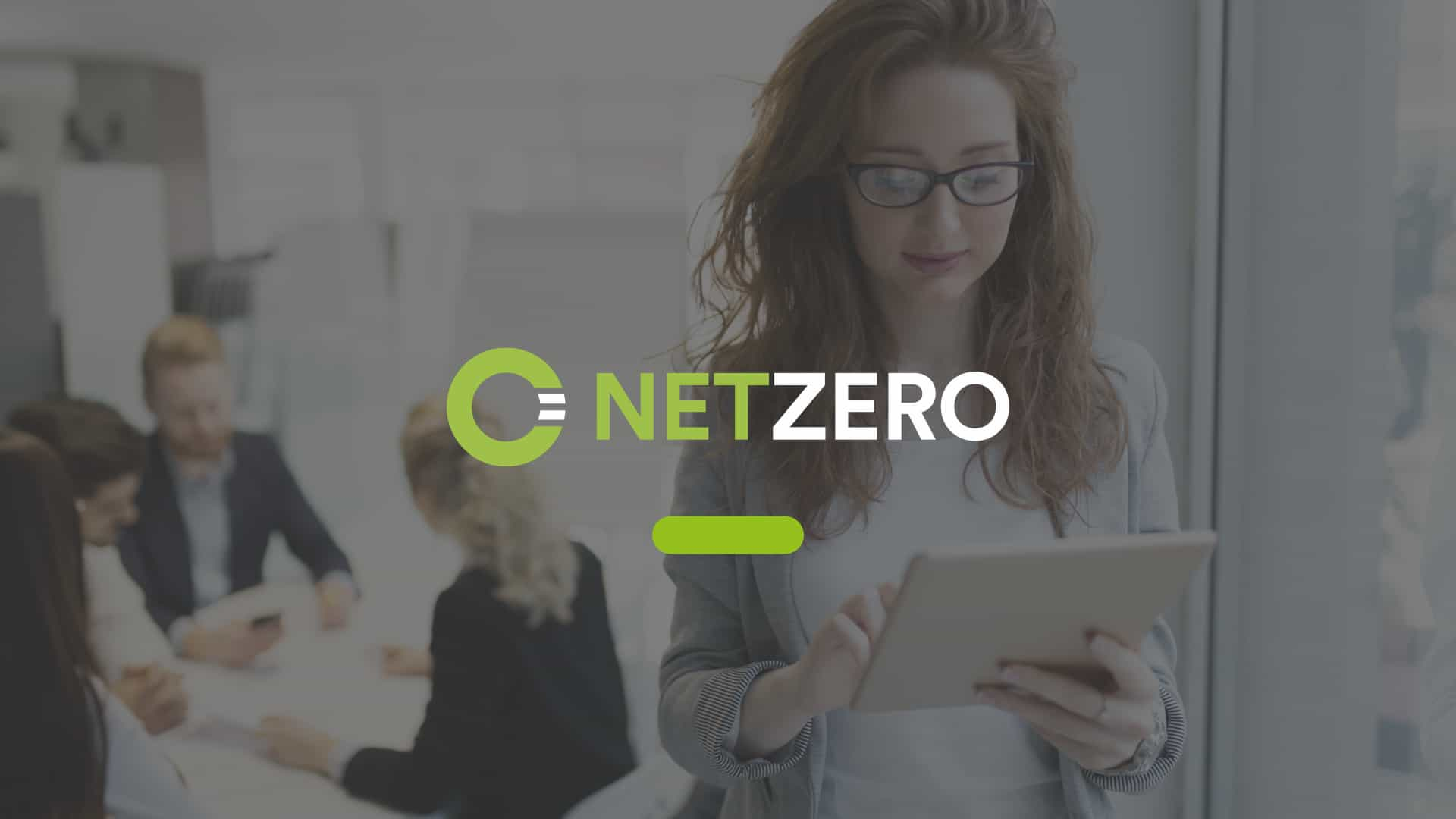 Branding and website design for NetZero